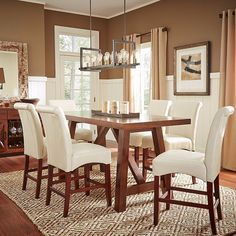hill creek black 5 pc rectangle dining room room to go | kitchen