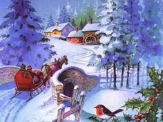 Old Fashioned Christmas Scenes images Christmas Albums, Merry Christmas Card, Christmas Scenes, Old Fashioned Christmas, Christmas Villages, Christmas Past, Christmas Carol, Winter Christmas, Xmas Music
