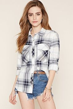 Camisa Cuadros | Forever 21 - 2000170251