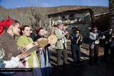 Fotografía José Miguel Martínez: Los Zamarrones del valle de Polaciones (Parte I)