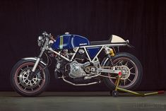 The detailing on this custom Ducati is jaw dropping.