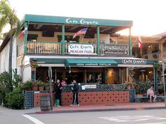 Cafe Coyote in Old Town - home of the BEST Mexican food (and margaritas) in San Diego!