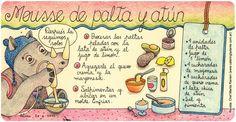 Mousse de palta y atún Mousse, Bullet Journal, Breads, Internet, Recipes, Easy Recipes, Appetizers, Beverages, Illustrated Recipe