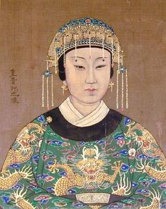 Royal Empress, China, 19th C: Pacific Asia Museum