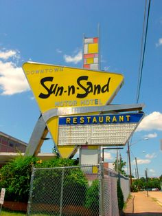 Sun-n-Sand, Jackson, Mississippi. Mama and I used to get a room here so I could swim in the pool.  I loved it!