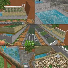 aquapini evolving in Sketchup, One Community http://www.onecommunityglobal.org/aquapinis-and-walipinis/