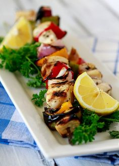 Grill out this weekend with this great recipe for grilled citrus chicken kabobs.