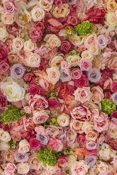 floral wedding backdrop