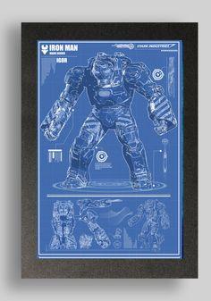 Iron man blueprint awesome pinterest ironman trajes y diseo iron man igor suit blueprints 16x24 by ryanhuddle on etsy 2500 malvernweather Image collections