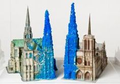 Copper Sulphate Chartres & Copper Sulphate Notre-Dame