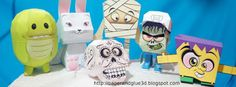 Paper toy and Papercraft models | figuras de papercraft para armar.: Escultura de papercraft perro Schnauser Blender 3d, Paper Toys, Paper Crafts, Mexican Crafts, Software Libre, Inspiration, Design, Album, Halloween