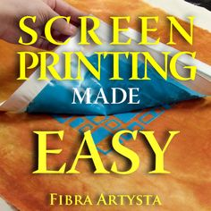 Screen printing made easy