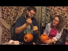 Carving Pumpkins In Poland