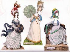 Free Clip Art and Digital Collage Sheet - Vintage Paper Dolls ...
