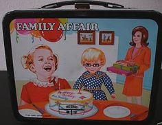 1969 Family Affair lunch box