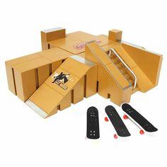 Skate Park Ramp Parts for Tech Deck Fingerboard Finger Board Ultimate Parks 92A