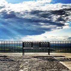 #mirador #nubes y campos