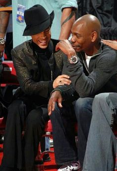 The late Prince Rogers Nelson and Dave Chappelle - EPIC!!