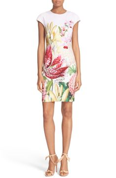 Ted Baker London 'Illu' Floral Print Body-Con Dress available at #Nordstrom