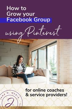 How to Grow Your Facebook Group Using Pinterest Marketing! (What works, and what doesn't!) Growing a Facebook group can be a treasure trove of ideal clients for women in the coaching business… and for online course creators and service providers, too. And, guess what… you can use your Pinterest marketing strategy to grow your group. About Facebook Group marketing, online coaching business tips for coaches who aim to get clients using social media.