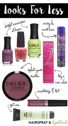 Update your routine for Spring with Looks for Less from Sally Beauty!