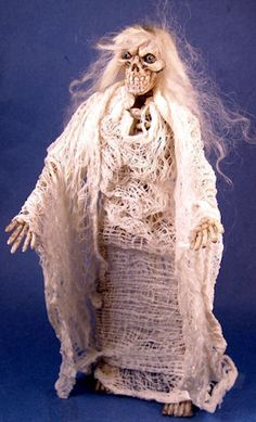 """Ghost doll - $110 - 6"""" tall"""