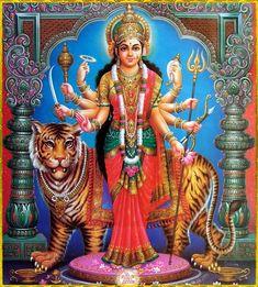 🌺 DURGA DEVI ॐ 🌺 Kali Puja, Durga Kali, Durga Puja, Shiva Shakti, Shiva Art, Hindu Art, Mother Goddess, Goddess Lakshmi, Navratri Puja