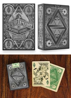 Four Point Playing Cards - USPCC Printed by Ben Vierck — Kickstarter