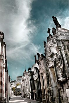 Recoleta Cemetery, Buenos Aires, Argentina-Evita Peron lies in a non-descript mausoleum here, one of the most sought-after in the country