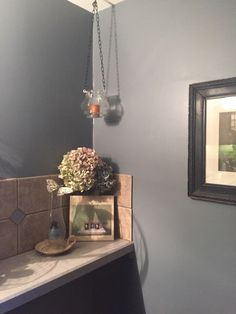 Repurposed glass candle holder and great alternative to mason jar holder