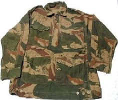 Here is a photo of a Pakistani field jacket was found at a Japanese website.