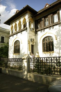 Bucharest, Mansions, House Styles, Home Decor, Park, City, Shelving, Decoration Home, Room Decor