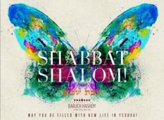 Shabbat Shalom!!