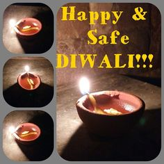 """And this is why we call this festival as """"HAPPY DIWALI""""  On this day you don't just lighten up your home and surroundings but also your soul...  and here's me wishing you all a very happy n safe diwali... light beautiful diyas & candles in your home & make it more beautiful...  PS: say no to crackers... they are harmful for animals and old age people a lot...  #kannucreative #happydiwali #lightdiyas #indianfestival #festiveseason #saynotocrackers"""