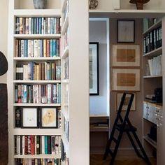 The most novel bookshelf ideas