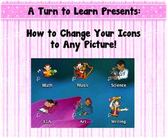make your files really easy to find (and really cute!) by changing your icons to pictures!