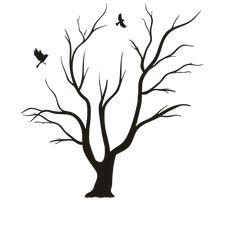 wedding diy fingerprint tree template to download print may