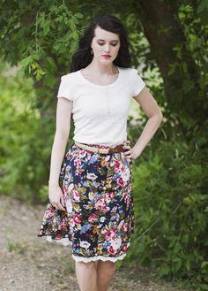 Chelsea Floral Skirt