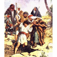 "Joseph, His Brothers and 20 Pieces of Silver - In this week's Torah parsha, Vayyeshev (Genesis 3740), we read of the story of Joseph and his Brothers. This portion contains only one mention of the word ""silver"", ""kesef"" in Hebrew in Genesis 37:28. From the RSV:  ""Then Mid'ianite traders passed by; and they drew Joseph up and lifted him out of the pit, and sold him to the Ish'maelites for twenty shekels of silver; and they took Joseph to Egypt.""    Click photo for more."