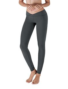 Yoga Reflex  Workout Pants for Womens Fitness  Back Zip Pocket CHARCOAL M *** Want to know more, click on the image. (Note:Amazon affiliate link)