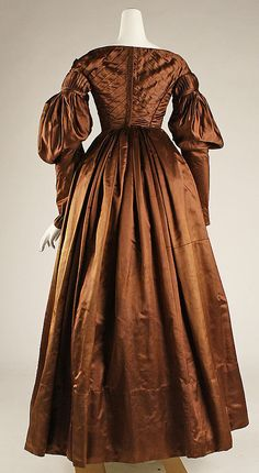 1825 Dress - that's the Met's date but I think it's more c.1837-39 - I agree! There's no way sleeves like that are from 1825, not to mention the placement of the waist and shoulders.