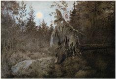 Kittelsen-070 - Det ruslar och tuslar 1900