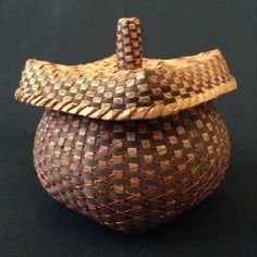 Pagoda Basket by Polly Adams Sutton