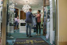 V unikátnej predajni Tailor Made v Poluse mu naša stylistka Miroslava Michalková vybrala práve oblečenie tohto typu.
