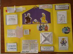 Plantillas lapbook   from Laura González                 DISTINTAS PLANTILLAS   Pockets        Tri-folds   Petal Books    Flap Book... Religion Catolica, English Activities, Homemade Toys, Teacher Hacks, Memory Books, Interactive Notebooks, Book Crafts, Teaching English, School Projects