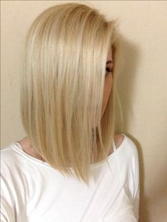Long bob for thin hair