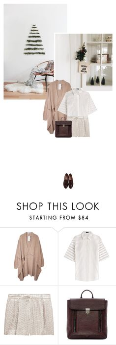 """Merry and bright!"" by bestdressx ❤ liked on Polyvore featuring Jil Sander Navy, Rochas, 3.1 Phillip Lim and Maybe-Baby"