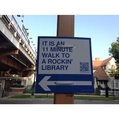 On a utility pole. Make your own at Walk [Your City]! Library Signage, Library Card, Library Ideas, Book Writer, Book Nerd, Where Is My Mind, Book Posters, What Book, World Of Books