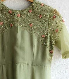 9895473878 Churidar Designs, Kurti Neck Designs, Dress Neck Designs, Designs For Dresses, Saree Blouse Designs, Embroidery On Kurtis, Kurti Embroidery Design, Embroidery Neck Designs, Embroidery Dress