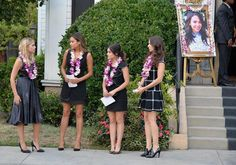 Pin for Later: The Killer Outfits on Pretty Little Liars Will Haunt You All Week Long Season 5 We love the variety of black dresses in this photo from Mona's funeral.  Source: ABC Family